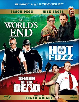 Cornetto Trilogy Bluray Disc