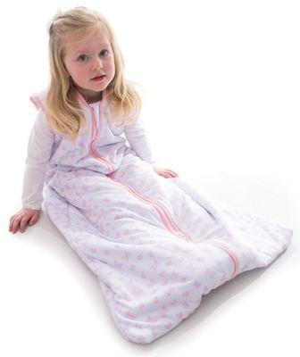 Snoozebag - Baby Sleeping Bag Butterflies & Hearts (1.0 tog, 18-36 months)