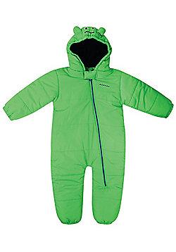 Dare 2b Break The Ice Baby Snowsuit - Dinosaur - Green