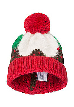 Mountain Warehouse Christmas Pudding Beanie - Brown
