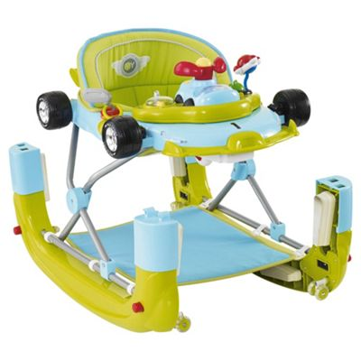 My Child F1 Car Baby Walker, Green