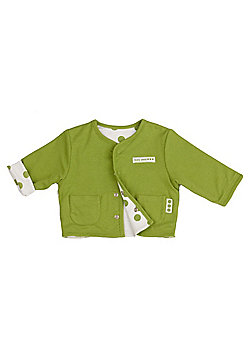 Reversible jacket - Green pea