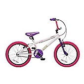 "Concept Roxy 18"" Wheel Kids Bike White/Purple"