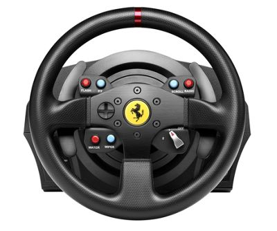Thrustmaster T300 Ferrari GTE Racing Wheel for PC, PS3 and PS4