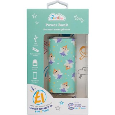 Cancer Research UK 4000 mAh Fairy Power Bank