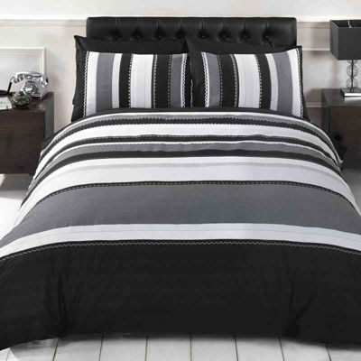Rapport Detroit Grey Duvet Cover Set - Single