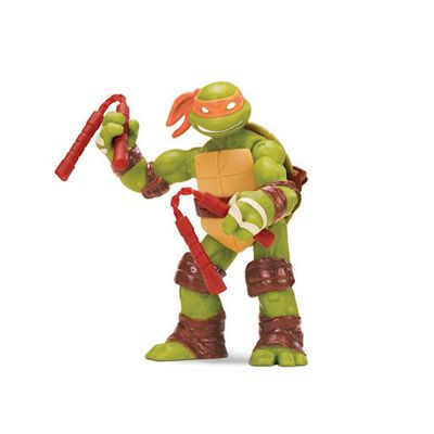 Teenage Mutant Ninja Turtles Michelangelo Jokester and Hard Hitting Nunchuck Hero Figure