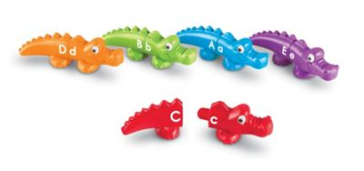 Learning Resources Snap 'n' Learn Alphabet Alligators