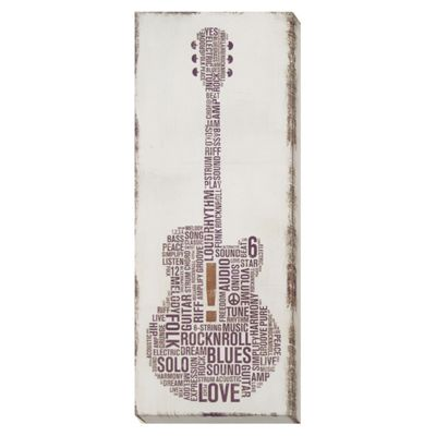 Big Band Canvas - Acoustic Guitar