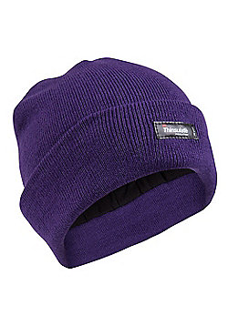 Mountain Warehouse Thinsulate Womens Knitted Beanie - Purple