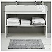 Fox & Ivy Egyptian Cotton Bathroom Textiles - Silver