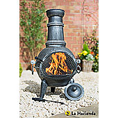 La Hacienda Arriba Medium Steel Chimenea