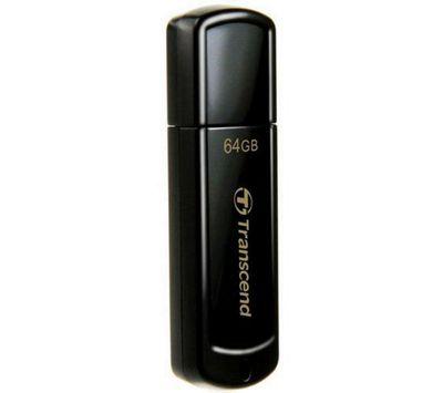 Transcend JetFlash 700 4 GB USB 3.0 Flash Drive - Black