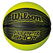 Wilson Hyper Shot Basketball Ball Green Size 7