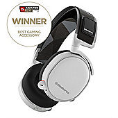 SteelSeries Arctis 7 7.1 Surround Lag Free Wireless Gaming Headset - White