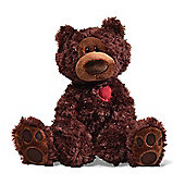 33cm Gund Philbin Bear Chocolate Soft Toy