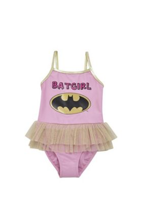 DC Comics Batgirl Tutu Swimsuit Pink 12-18 months