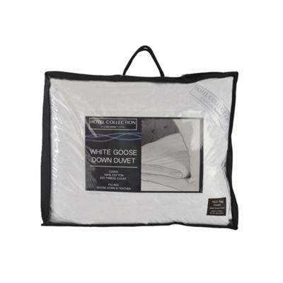Hotel Collection Luxury White Goose Down Duvet - Double