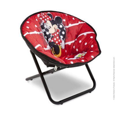 Delta Children Disney Minnie Mouse Saucer Childs Toddler Chair