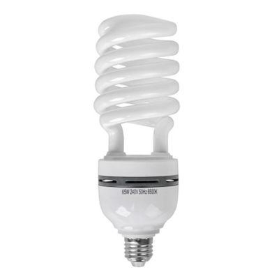 Minisun 65W ES E27 Energy Saving Daylight Spiral Bulb 6500K