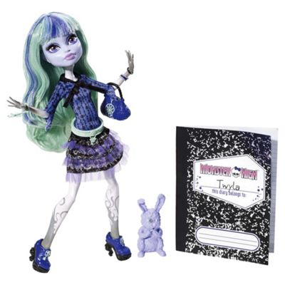 Monster High 13 Wishes Doll - Twyla