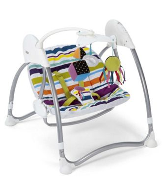 Mamas u0026 Papas - Solo Swing - Magic Stripe  sc 1 st  Tesco : mamas and papas rocking chair - Cheerinfomania.Com