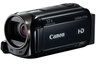 Canon HF R56 Camcorder Black FHD 8Gb Flash/SDXC WiFi