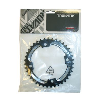 Truvativ Chainring MTB 39t 4 Bolt 120mm BCD Alu L-Pin (GXP) Blast Black 2x10