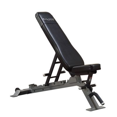 Body-Solid Pro Club Line Commercial Flat/Incline/Decline Utility Bench