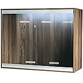 Viv-Exotic VIVA+ Arboreal Vivarium Large Deep - Walnut