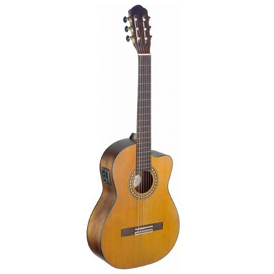 Silvera Semi-Acoustic Classical Guitar with Cutaway - S