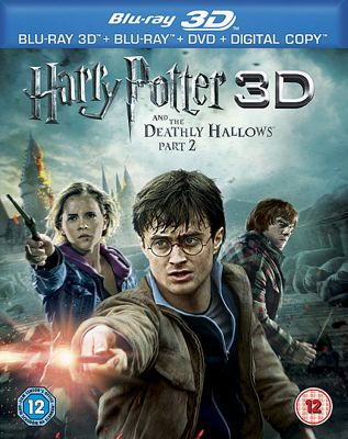 Harry Potter And The Deathly Hallows Part 2, 3D Bluray
