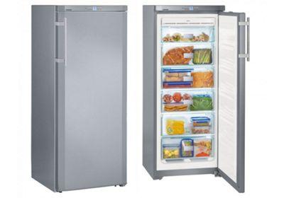 Liebherr GNsl2323 Tall Silver NoFrost Freezer
