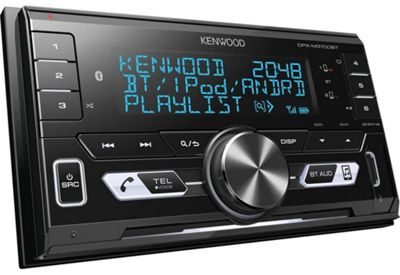 Kenwood In Car Stereo-│2DIN-Radio│USB│AUX│Bluetooth│Connect 2 Phones│iPod-iPhone-Android
