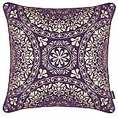 Rocco Medina Purple Cushion Cover - 43x43cm