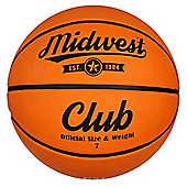 Midwest Club Basketball Tan Size 7