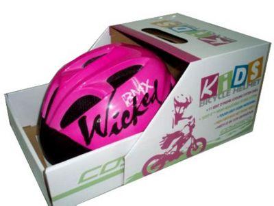 Coyote Kids Wicked Girls Bike Helmet Small 48-52cm