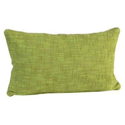 Homescapes Nirvana Cotton Green Cushion Cover, 30 x 50 cm