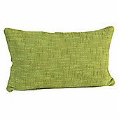 Homescapes Nirvana Cotton Green Scatter Cushion, 30 x 50 cm