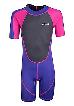 Mountain Warehouse Kids Shorty Wetsuit - Pink