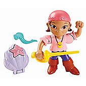 Disney Jake and the Never Land Pirates Buccaneer Battling Action Figure - Izzy