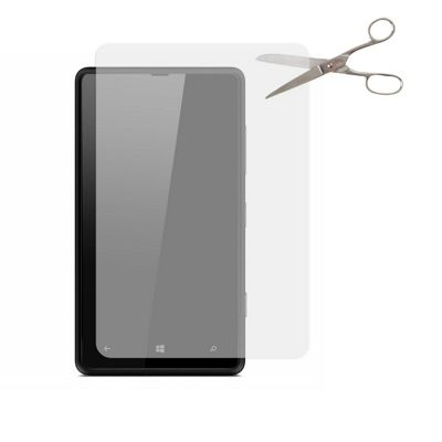 Tortoise™ Universal Cut to fit Screen Protector Twin Pack