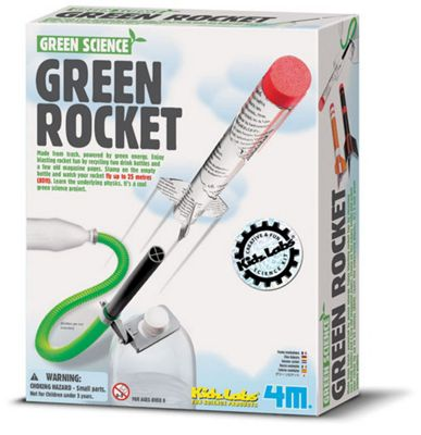 Green Science Green Rocket - 03298 - Kidz Labs - Great Gizmos