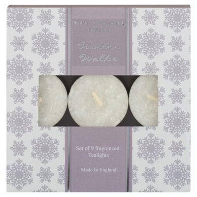 Wax Lyrical Winter Walks Tealights