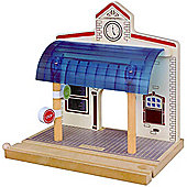 Toys for Play Chelsey Station for Wooden Railway Train Set 50958