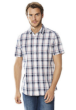 F&F Checked Short Sleeve Shirt - Multi