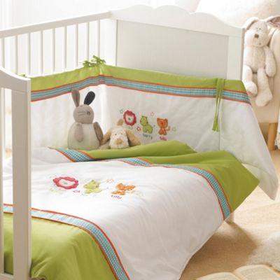 R Kids Safari Friends 3 Piece Bedding Set