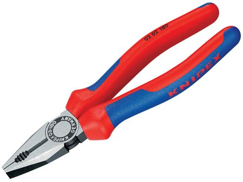 Knipex Combination Pliers Multi Component Grip 180mm