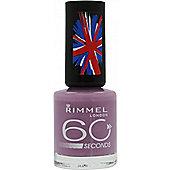 Rimmel 60 Seconds Nail Polish 8ml - 420 Sweet Lavender
