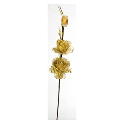Gold Flower Sprig